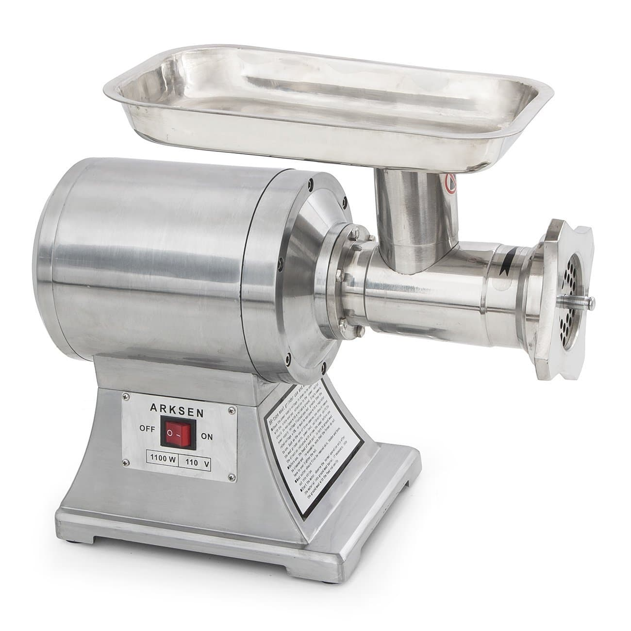 Arksen 1100w Commercial Electric Meat Grinder Review